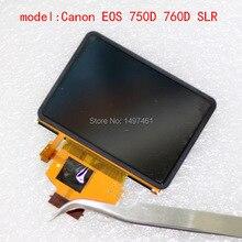 Yeni dokunmatik LCD ekran ekran aydınlatmalı Canon EOS 750D 760D 77D 800D; Öpücük X8i;Rebel T6i; öpücük 8000D;Rebel T6S SLR