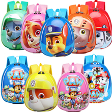 Paw Patrol dog Big Capacity Backpack Anti lost Easy to clean Rope Travel Essential Harmless Cartoon Children Action Figures Gift