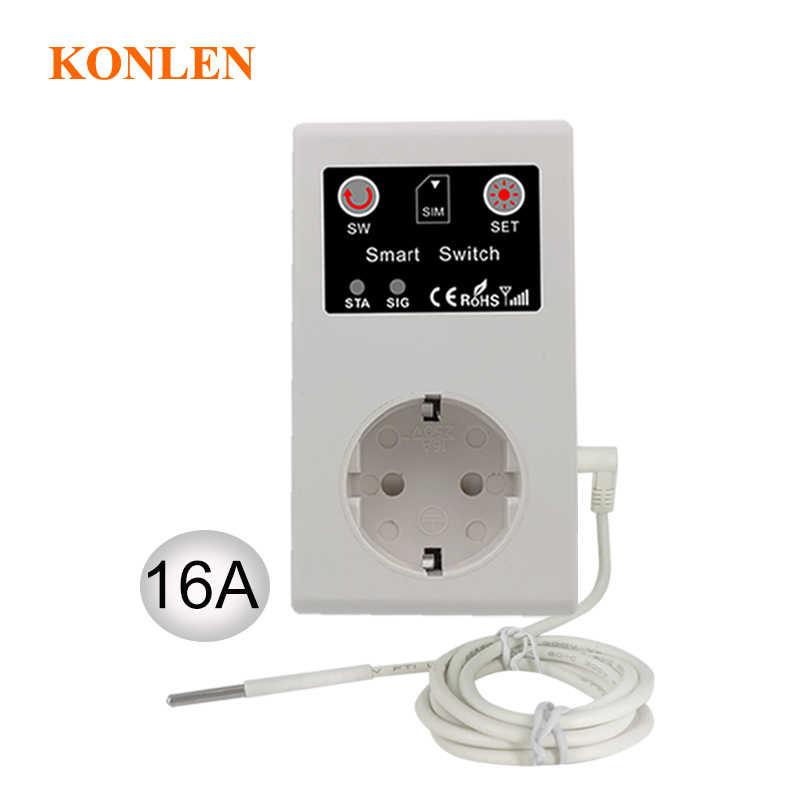 16a Gsm розетка дистанционного управления выключатель