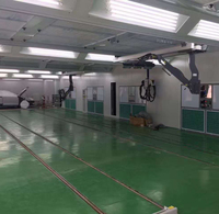 Spray painting Line Multi station Two Stations Vehicle Maintenance and Repair Painting Line With Central Dust Removal System