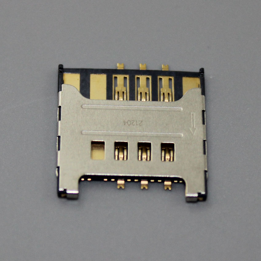 10PCS Sim Card Reader Module Slot Tray Holder Socket Replacement Part For Samsung I9000 I9008 Galaxy S ,KA-036