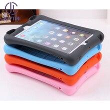 Jovtini Новое поступление чехол для Apple iPad мини 1/2/3 мягкой силиконовой резины дети противоударный Подставка для планшета Cover для iPad mini123 случае