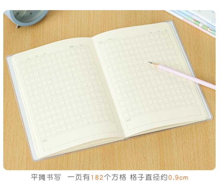 Image 5 - Chinese character exercise book Hanzi composition grid workbooks Portable notebook  writing practice book,size:15*21 cm,set of 5-in Notebooks from Office & School Supplies