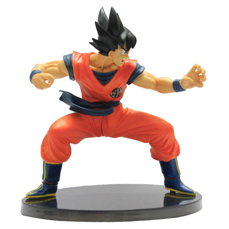 Retail wholesale Dragon Ball Z Figures The Monkey King Son Goku PVC Action Figure Collection Model Toy 615CM 16cm monkey king goku dragon ball z action figure pvc collection toys for christmas gift brinquedos collectible with retail box