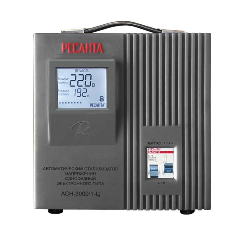 Voltage stabilizer RESANTA ASN-3000/1-C cxa 0247 pcu p052d tdk lcd inverter high voltage switchboard
