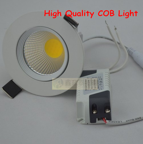 Wholesale 50pcs Lot High Quality Lamps 12w Led Downlight Cob Recessed Cabinet Spot Light Led Ceiling