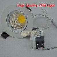 Wholesale 50pcs Lot High Quality Lamps 12w Led Downlight Cob Recessed Cabinet Spot Light Led Ceiling