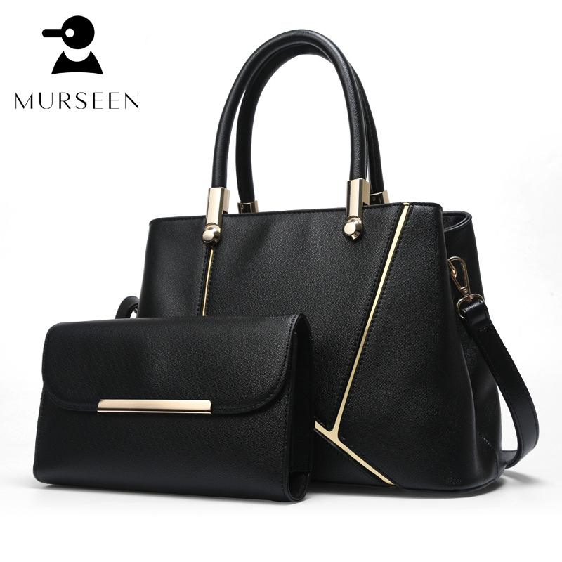 women leather handbags set 2018 luxury brand bags fashion lady leather crossbody bags Black shoulder bags tote puse hobo Red GW