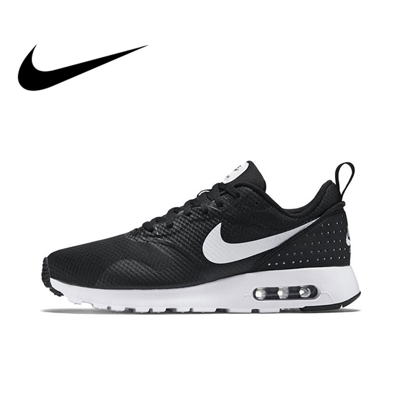 NIKE AIR MAX TAVAS Original Authentic Men's Running Shoes Sport Outdoor Sneakers Breathable Low Top Footwear Jogging 705149-009 кроссовки nike кроссовки nike air max tavas 705149 409