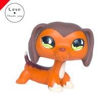 Такса собачка LPS игрушки