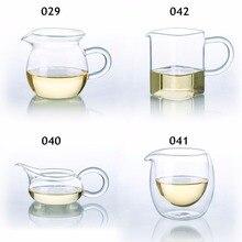 Виды термостойкого прозрачного стекла чайной сервировки кувшин китайский Гонг фу ча хай