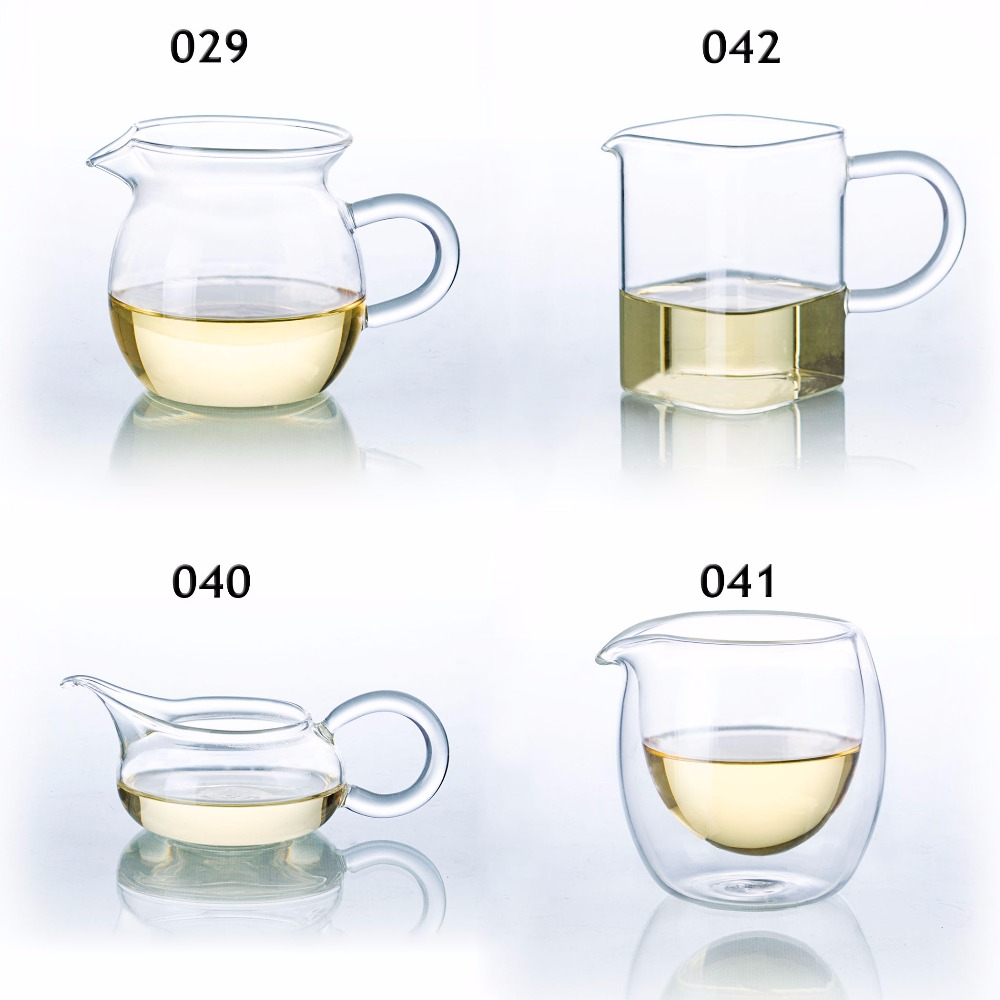 Kinds Of Heat Resistant Clear Glass Tea Serving Pitcher Chinese Gong Fu Cha Hai