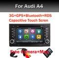 """7 """"Емкостный Сенсорный Осыпи Dvd-плеер Автомобиля для Audi A4 (2002-2008) Audi S4/RS4/8E/8F/B9/B7 С Bluetooth Gps-радио RDS Canbus Карта"""