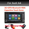 "7""Capacitive Touch Scree Car DVD Player for Audi A4 (2002-2008) Audi S4/RS4/8E/8F/B9/B7 With GPS Bluetooth Radio RDS Canbus Map"