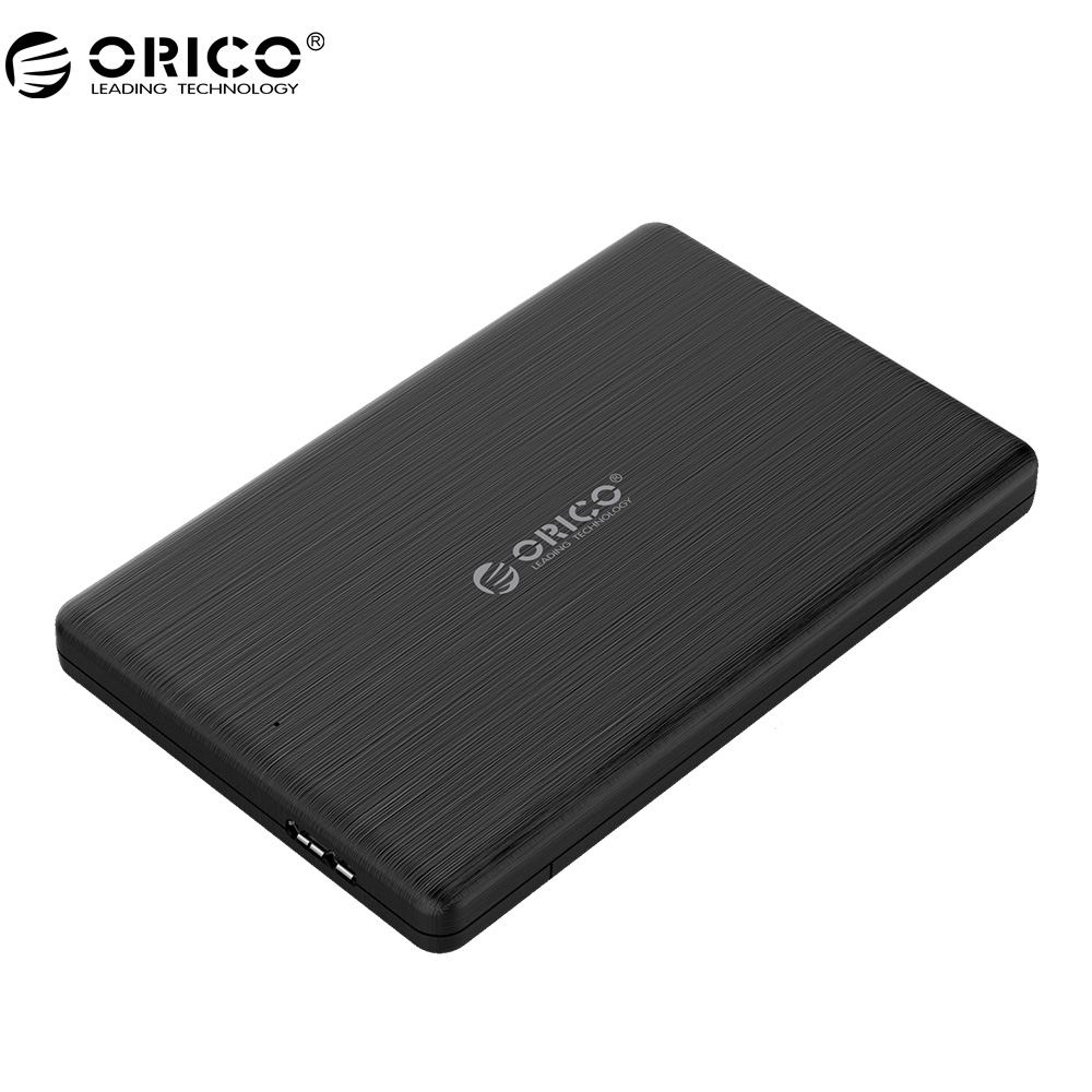 ORICO 2.5 inch SSD Enclosure USB3.0 Micro B External Hard Drive Disk Case for 7MM High-Speed Case Support UASP SATA III 2 5 sata external hard drive 250g hdd enclosure usb 3 0 shock resistant silicone case hard disk u23sf