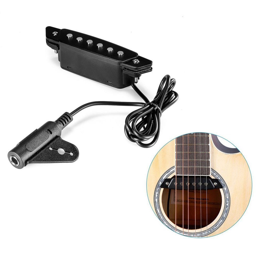 Folk Pop Guitar Acoustic Sound Hole Pickup Musical Instrument Accessories String Instruments  for 39 to 42 Acoustic Folk Guita samsung 100mb s memory card 128gb 64gb 32gb 256gb micro sd card class10 u3 microsd flash tf card for phone with sdhc sdxc