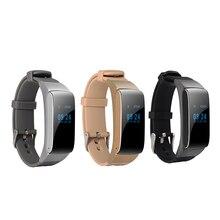 Cheapest prices DTNO.I Bluetooth Smart Bracelet Watch DF22 HiFi Sound Headset Digital Wrist Calories Pedometer Track Fitness Sleep Monitor