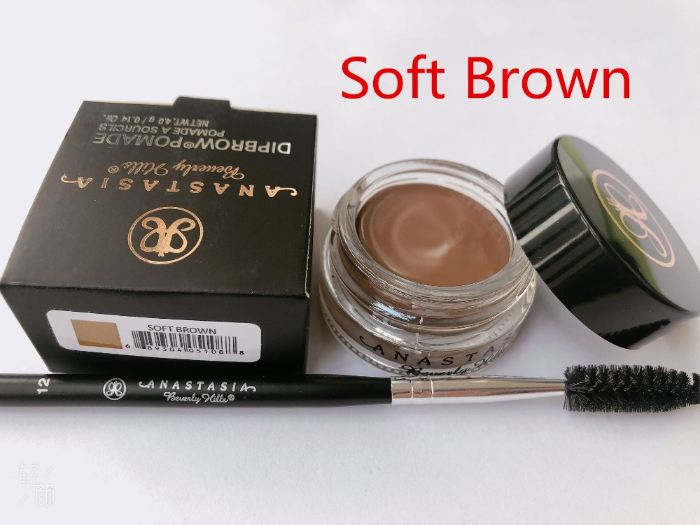 2019cheap Anastasia Beverly Hills  Makeup Eyebrow Cream Ebony With Free Eyeliner Brush Powder GlowKit Contour Blusher  Anastasia