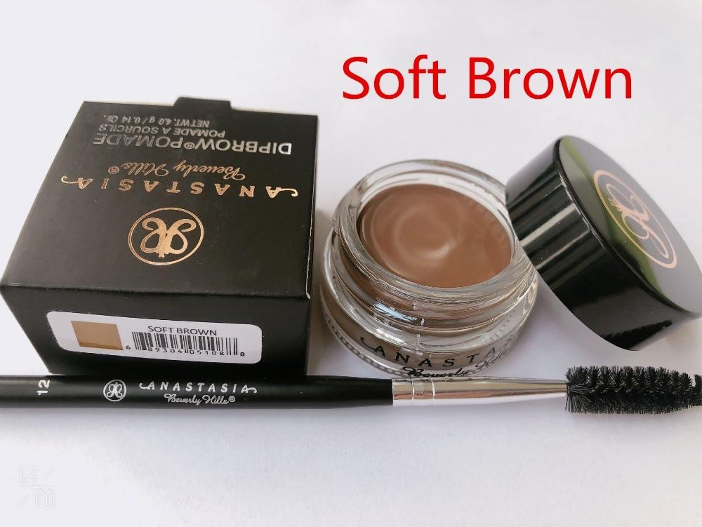 2019cheap Anastasia Beverly Hills  Makeup Eyebrow Cream Ebony With Free Eyeliner Brush Powder GlowKit Contour Blusher  Anastasia