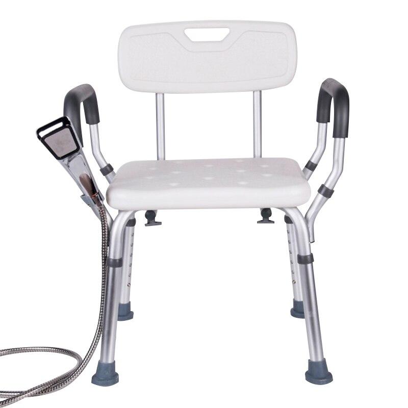 Bathroom Chairs & Stools Punctual Old Man Shower Chair Bathroom Stool Non-slip Elderly Bath Shower Chair Pregnant Woman Bath Stool Furniture