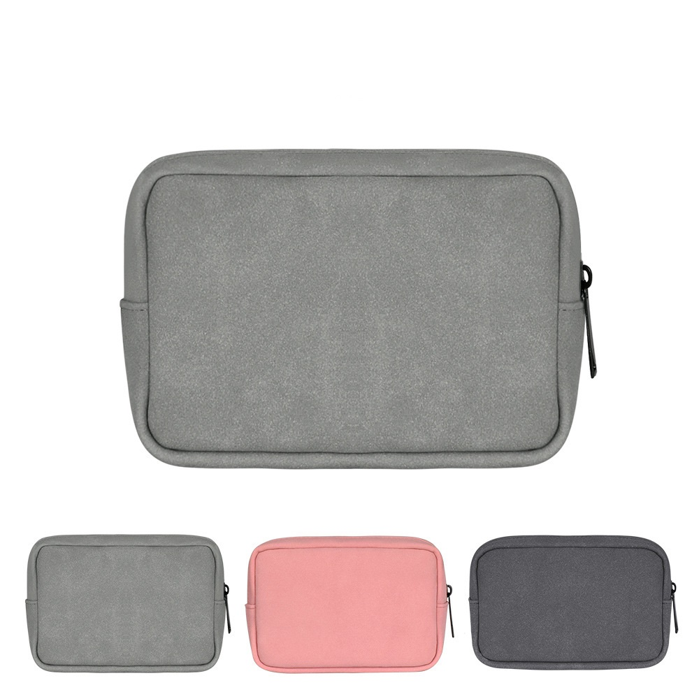 Hard Drive Bag Carrying Travel Electronics Accessories Organizer Cable Management for Power Cord USB Charger AC Adapter