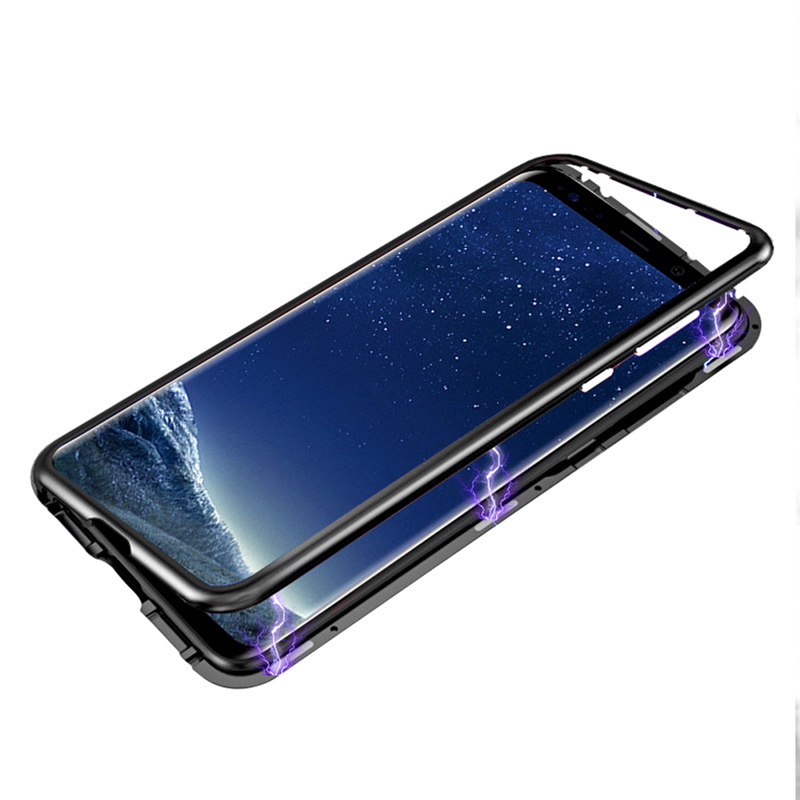 Image 5 - Magnetic Adsorption Metal Case For Samsung Galaxy S8 S9 S10 Plus S10E S7 Edge Note 8 9 M20 M10 A30 A50 A7 A8 A9 J4 J6 Plus 2018-in Fitted Cases from Cellphones & Telecommunications
