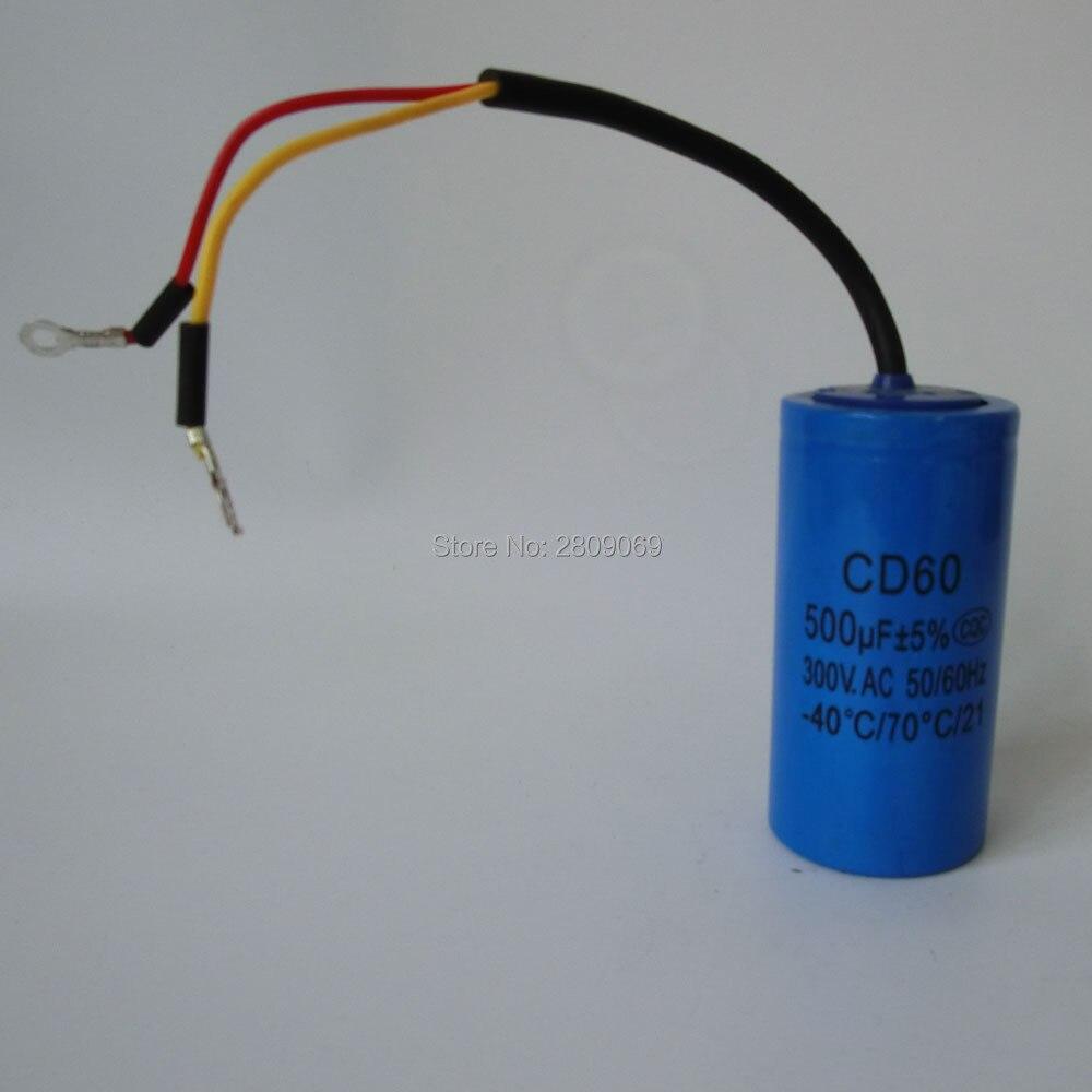 staring capacitor,500uf,300Vor250V,AC,50/60Hz.-40-70 temperature. staring capacitor cd60 100uf 250v ac 50 60hz 40 70 temperature 21
