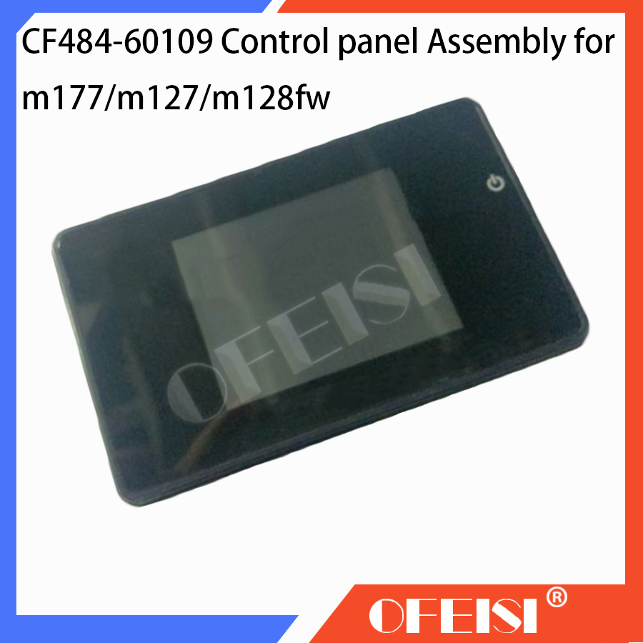 Original 90% new CF484-60109 Control panel Assembly for HP Laserjet 177fw/M127FW/M128FW printer Control panel Color touch screen цена