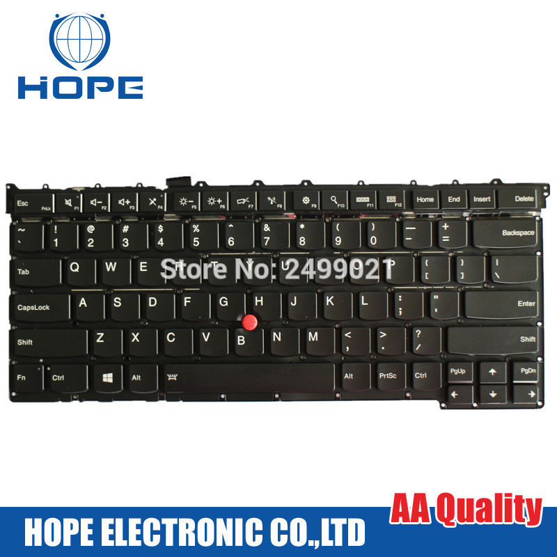 New & Original Laptop Keyboard For Lenovo Thinkpad  X1 Carbon 3rd  2015 US Keyboard With Backlight new laptop keyboard for ibm thinkpad e550 e555 e550c e560 e565 french belgian dutch deutsch german swiss turkish us layout