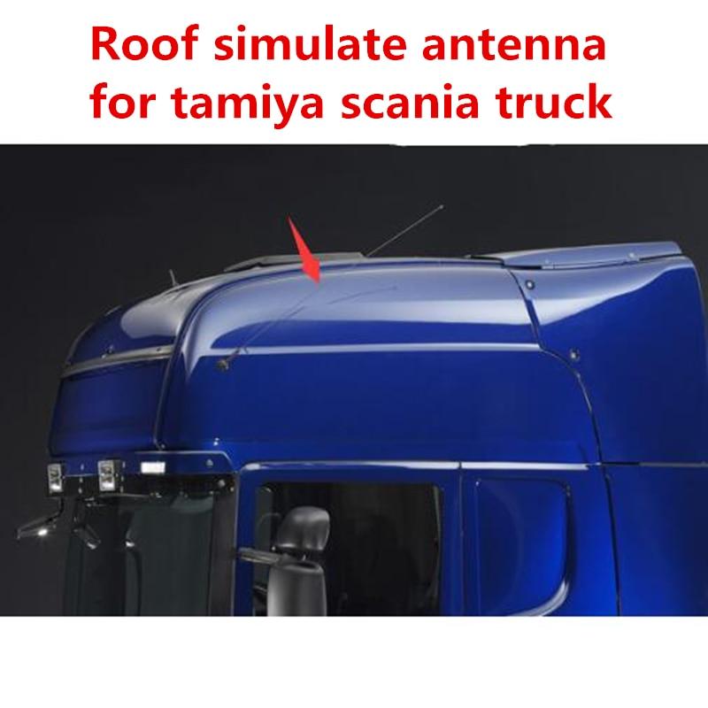 LESU Model Roof Antenna A for 1//14 RC Tractor Truck TAMIYA Scania DIY Trailer