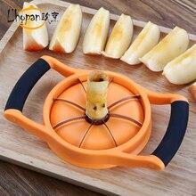 Edelstahl klinge abs griff apple birne slicer lagerung obst schneidwerkzeug für platte 1 slicer und 1 sockel