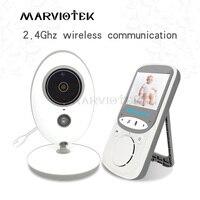 2.4 インチワイヤレスビデオベビーモニターとカメラミニカメラインターホンナイトビジョン温度監視ベビーシッター乳母 VB605