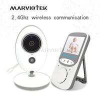2.4 inch Wireless Video Baby Monitor With Camera mini Camera intercom Night Vision Temperature Monitoring babysitter nanny VB605