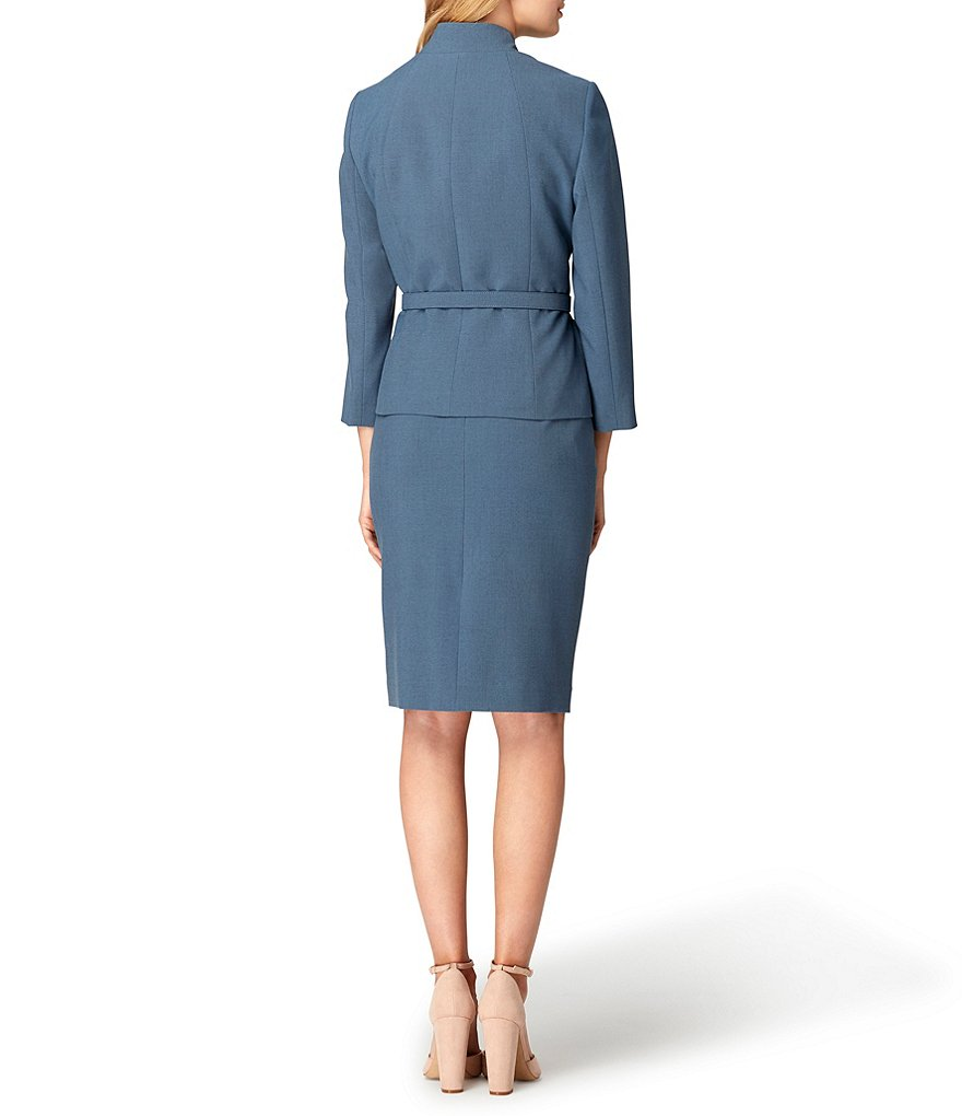 De Mesure Cool Teal Bureau Costumes Dame Pièce Sarcelle multi No Fille Sash Veste Sans W35 2 Femmes Sur Ceinture jupe Fête Jupe FXvcgqxw