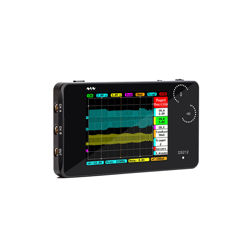 Super Cool Protective Silicone Case Only For Mini Digital Oscilloscope DS212