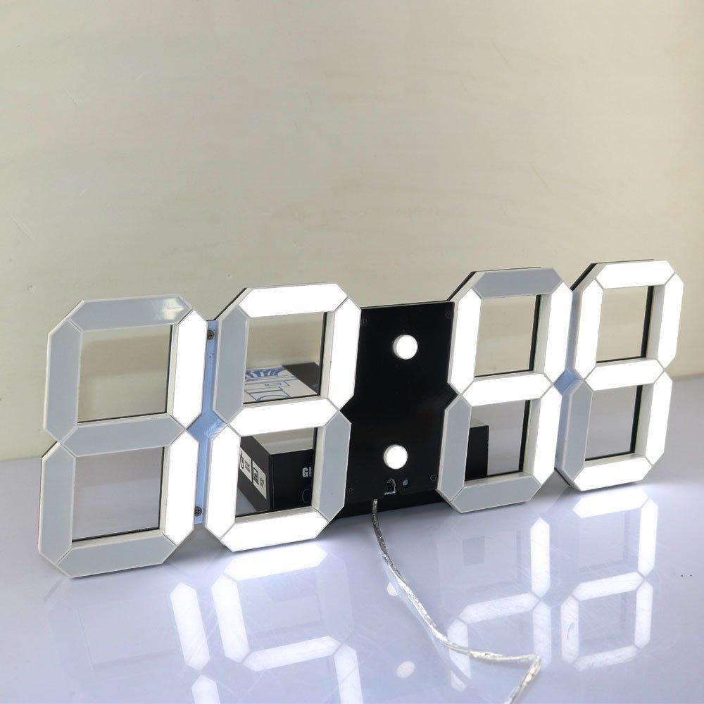 large digital wall clock Super Large Digital Wall Clocks LED Alarm Clock Countdown Timer  large digital wall clock