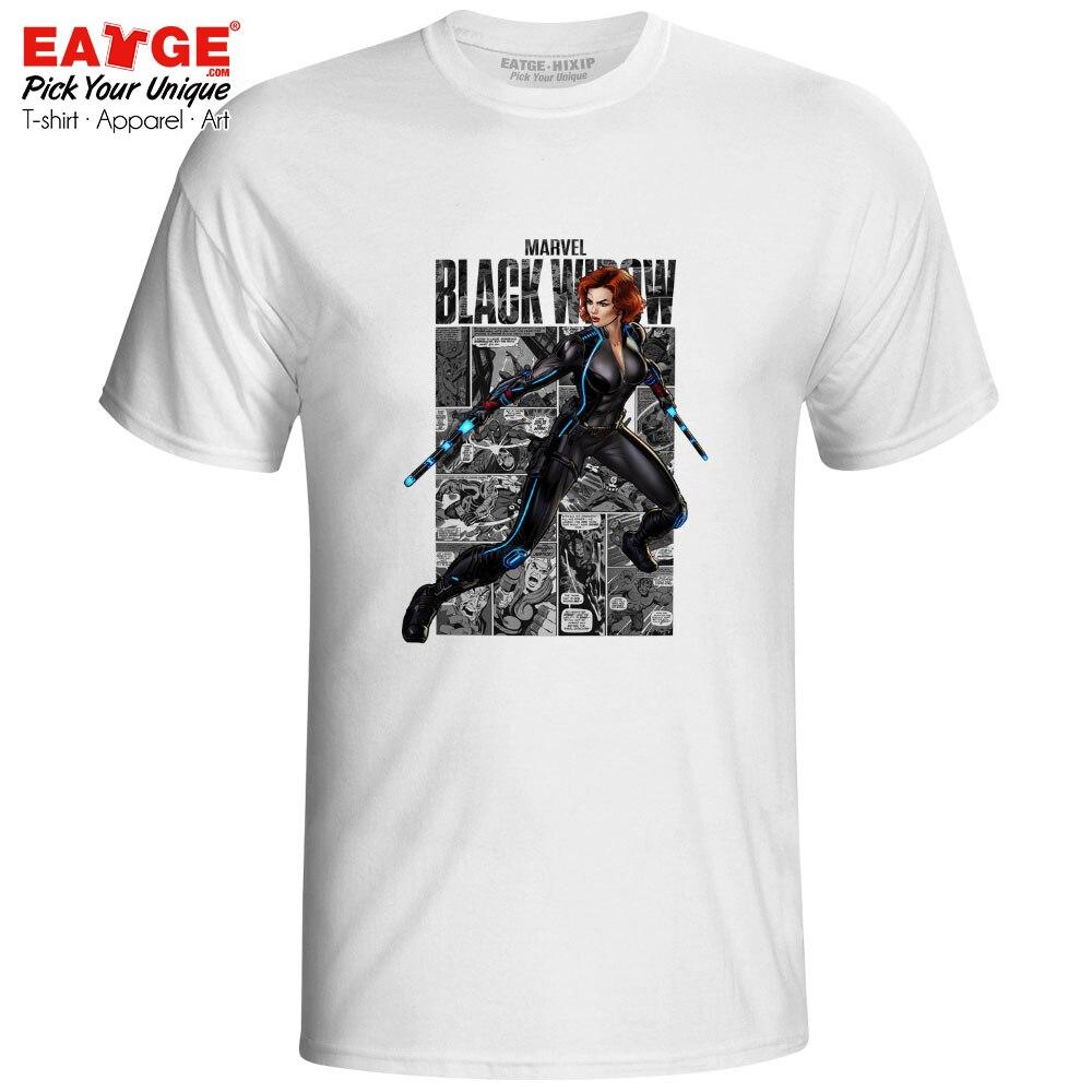 Goodbye Black Widow T Shirt Avengers 4 Endgame T-shirt Marvelous Comic Style Superhero Active Hip Hop Funny Unisex Cotton Tee