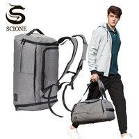 Multifunction Men Travel Bags Anti Theft Male Bag Portable Travel Duffel Bags for Man Large Capacity Shoulder Handbag Back Pack