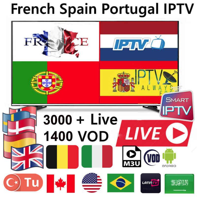 Подписка HD World IPTV 3000 + Live 1400 VOD канал лучший для Европы Испания Италия арабские африканские латиноамериканские глобальная подписка