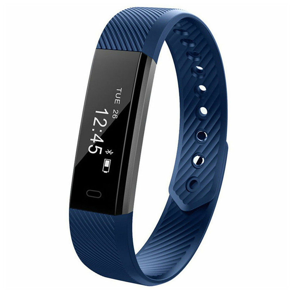 Smart Bracelet Fitness Tracker ID115 lefun APP Bluetooth Band Activity Monitor Alarm Clock Sports Wristband for iOS Android image