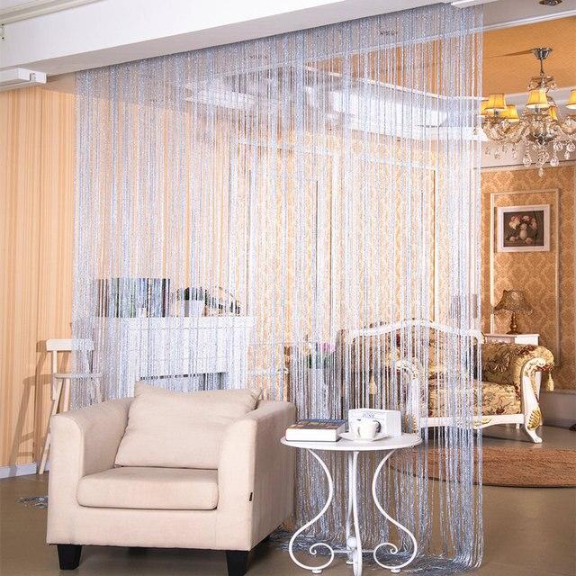 Decorative String Curtain 300cm 280cm Clic Line Window Blind Vanlance Room Divider Indoor Upscale