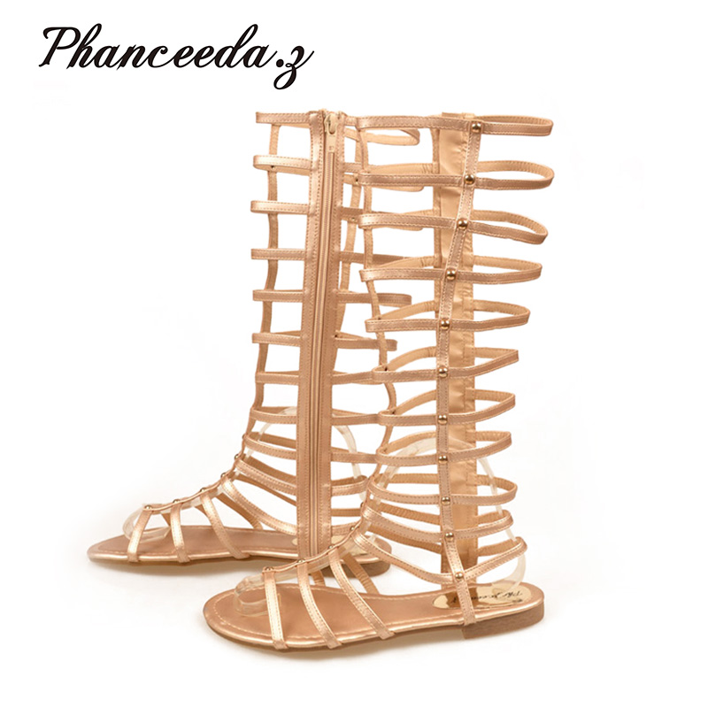 New 2017 Gladiator Sandals Woman knee high sandalias Tassels Women Sandal Shoes Woman sexy summer Styles ankle boots Hair ball excellent design sandalias femininas tassels sandal summer shoes fashion design high heels gladiator womens sandals shoes