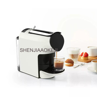 S1103 Capsule coffee machine 220V Portable office coffee machine Adjustable 9 level home coffee machine 1200W 1pc|Coffee Makers| |  -