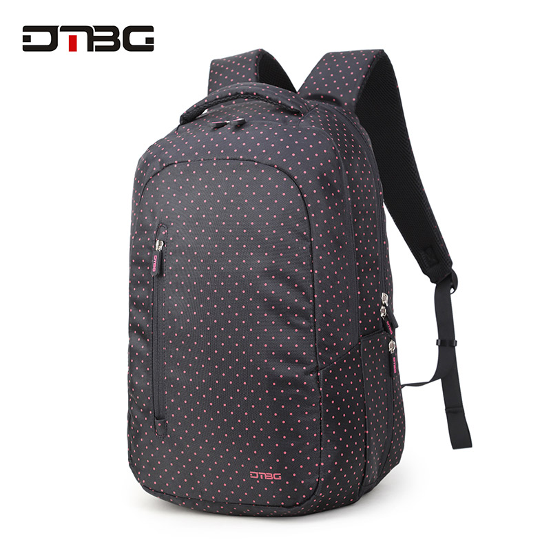 цены DTBG School Backpack For Girls Boy Fashion Dot Printed Soft Lightweight School Bags Teenager Student Rucksack Large Capacity Bag