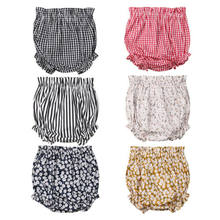 Newborn Kids Baby Boy Girls Bottoms Bloomer Shorts Diaper Cover Panties PP Pants for Kid clothes toddler Children(China)
