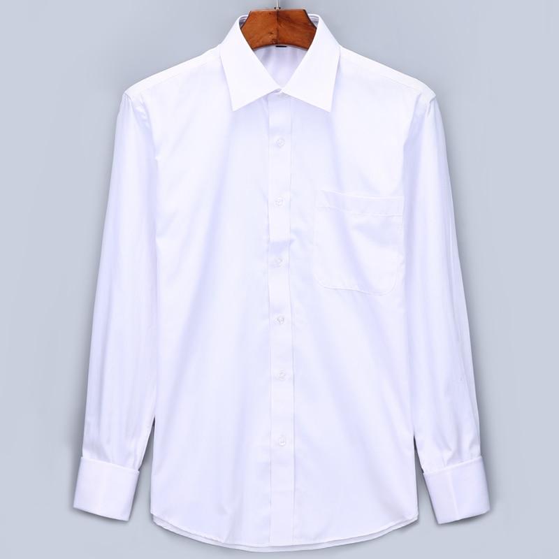 Cufflinks Business Dress Shirts Long
