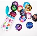 Elasun preservativo ultra fino 5 em 1 série de látex de borracha natural preservativos para homens 5 tipos 24 pcs