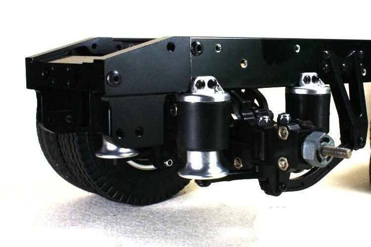1 مجموعة 1/14 شاحنة وسادة هوائية تعليق كيت X 8004 X 8005 كبير السكتة الدماغية تعليق المضادة للتصادم نظام ل 1:14 طامية جرار RC سيارة-في قطع غيار وملحقات من الألعاب والهوايات على  مجموعة 1