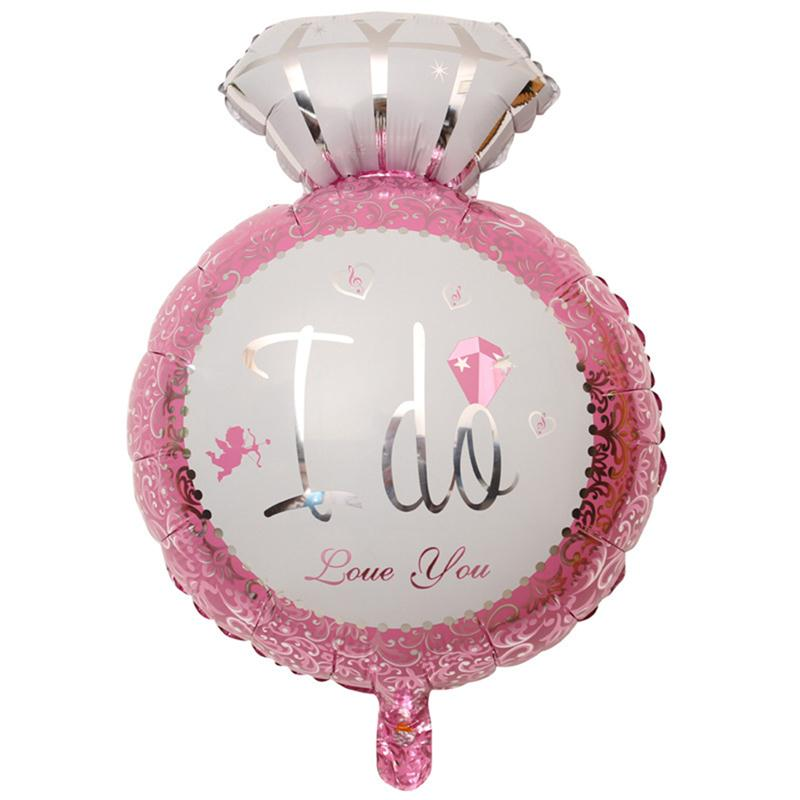 Online get cheap bridal shower balloons for Balloon decoration for engagement party