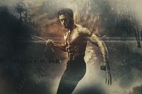 X Man The Wolverine Action Movie Poster Art Silk Wall Fabric Canvas Home Decorative painting printing Hugh Jackman 24x36inch